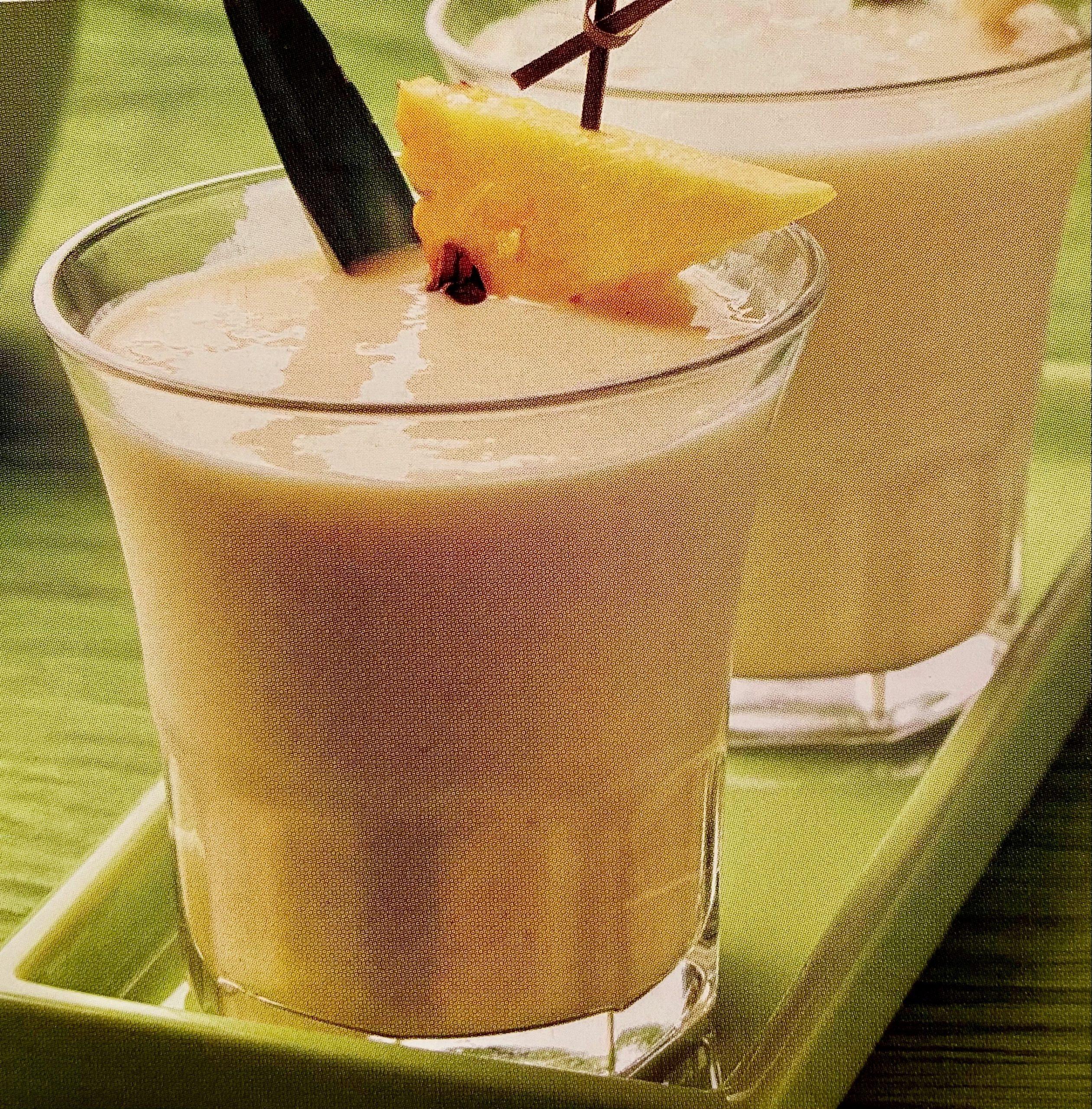 Pineapple Banana Licuado